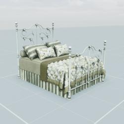 Antique Bed 5.3
