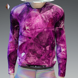Pink Crystal Sweatshirt