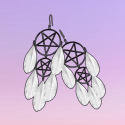 Devil's Dreamcatcher White