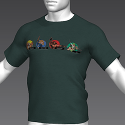 Ready Player One: Gauntlet T-Shirt 03 (Green) (M)