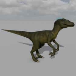 Raptor Avatar - Forest Green