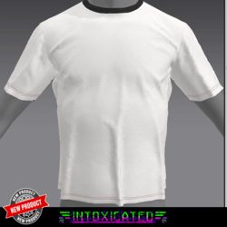 [INTOXICATED] mens white T shirt