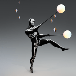 Dance with full body tracking