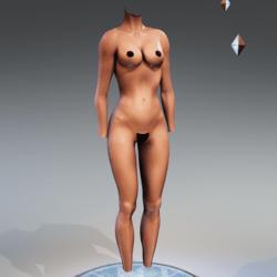 Kismet Body 3A with wet skin by Apocalypse Bunnies