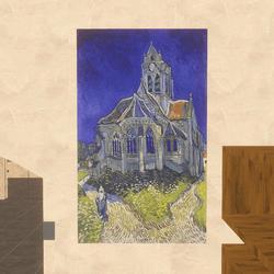Art - The Church at Auvers 1890 Van Gogh
