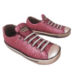 Glitter Sneakers pink