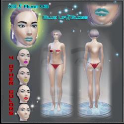 X3 - Alina - V3 Blue-Pearl Avatar