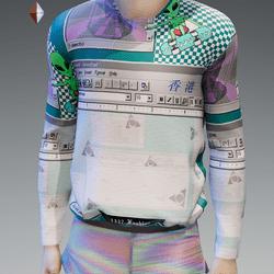 Unisex Vaporwave Sweatshirt