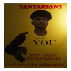 Sansarian Cult Poster