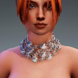 Medusa Choker Necklace