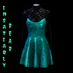 Magica Skater Dress [AQUA]
