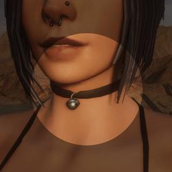 Alice's Bell Black Choker - Clothing