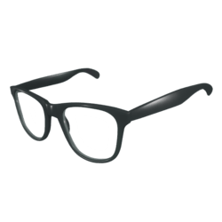 Glasses Black - Male