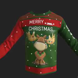 SWEATER CHRISTMAS EMISSIVE