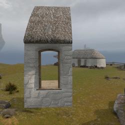 Highland Cottage Kit: Doorway Side