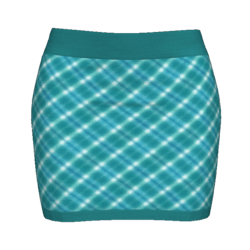 Woman Simple Skirt - Plaid