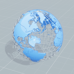 Wireframed_Globe