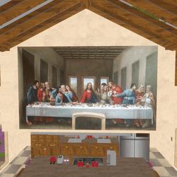 Art - The Last Supper 1498 Leonardo Da Vinci