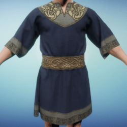 Medieval Norse Tunic Blue