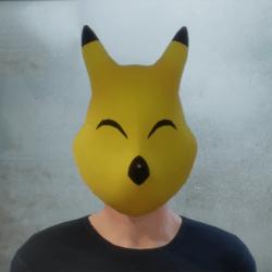 [M] Keaton Mask - Ears