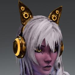 Anubis headphones GLD
