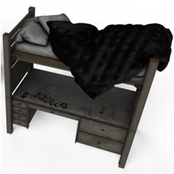 Twin Desk Bed No.2