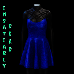 Magica Skater Dress [BLUE]