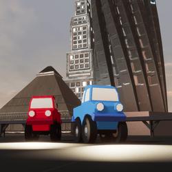 Toy Trucks Animated Set