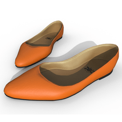 Minaty - Woman Shoes - Orange