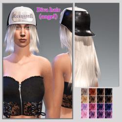 diva hair (angel)
