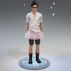 ACE VENTURA  OUTFIT_ OUTFIT