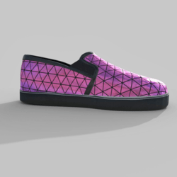 Slip-On Shoes Pink Female