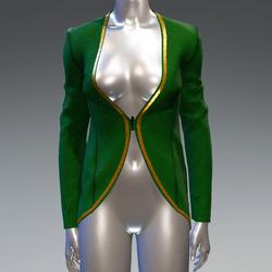 Elf blazer - green