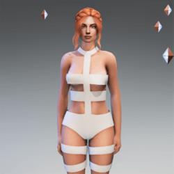 LeeLoo Bandage Bodysuit Original