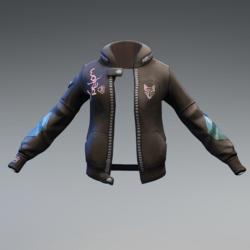 Cyberpunk jacket F