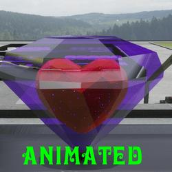 Animated Spinning Diamond