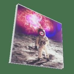 Space Man 3D artwork Painting