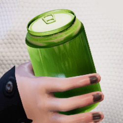 Bottle lime in arm