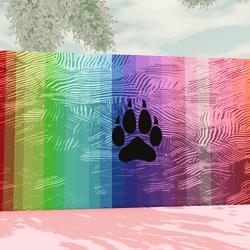 WolfenKind Rainbow Painting V3