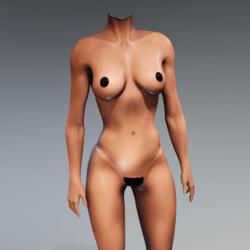 Kismet Body 2B wet (UPDATED) by Apocalypse Bunnies