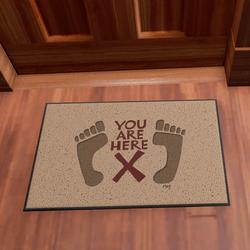 Door Mat You Are Here