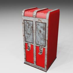 Candy vending machine Vintage