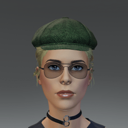 TKA Olive cap and hair collected