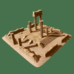 Ancient Ruins Scene A1