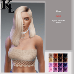 kia-light blonde roots base-demo