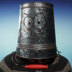 Haunted Bucket Helmet (Male)