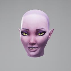 Vinx's Head Smile (Eyes Yellow)