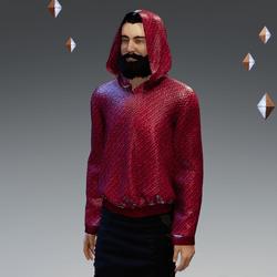 Plastic-Weave Hoodie - Unisex