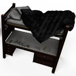 Twin Desk Bed No.3