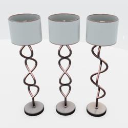 Helix Floor Lamp Copper